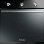 Baumatic Vantage BOFM604B Black Single Built In Electric Oven