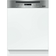 Miele G6410Sci CleanSteel Built In Semi Integrated Dishwasher