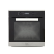 Miele Pureline H6260BP CleanSteel Single Built In Electric Oven