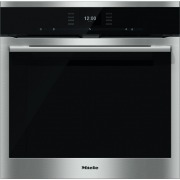 Miele ContourLine H6560BP CleanSteel Single Built In Electric Oven