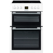 Blomberg HKN60W Ceramic Electric Cooker with Double Oven
