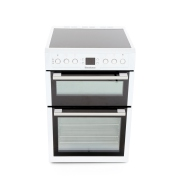 Blomberg HKN61W Ceramic Electric Cooker with Double Oven