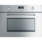 Smeg Cucina SC445MCX1 Built In Combination Microwave