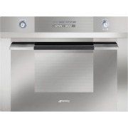 Smeg Linea SC45MC2 Built In Combination Microwave