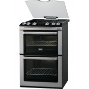 Zanussi ZCG664GXC Gas Cooker with Double Oven