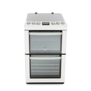 Zanussi ZCV553MWC Ceramic Electric Cooker with Double Oven