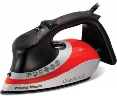 Morphy Richards 301011 Comfigrip Steam Iron Ionic TriZone Soleplate