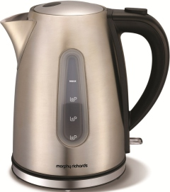Morphy Richards 43902 Accents Brushed Stainless Steel Jug Kettle