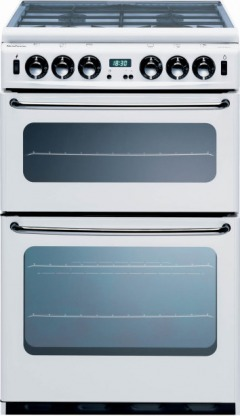 New World Newhome 550TSIDLM White Gas Cooker Separate Grill