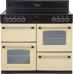 Belling Classic 100E Cream 100cm Electric Range Cooker