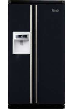 Rangemaster american fridge freezer black