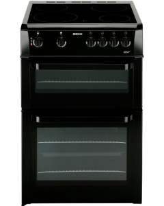 Beko BDVC663K Ceramic Electric Cooker with Double Oven