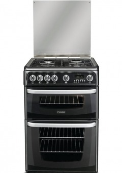 Cannon Carrick CH60GCIS Gas Cooker with Double Oven