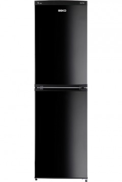Beko freezer black