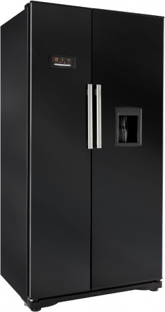 Beko black freezer