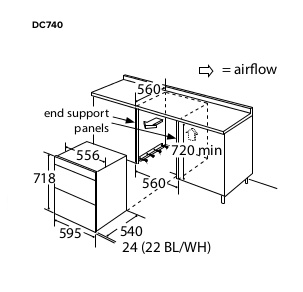 Double Oven Electric Range