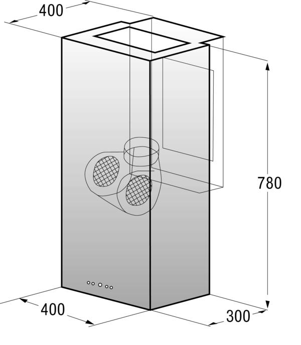 infinity stainless steel chimney range hood manual