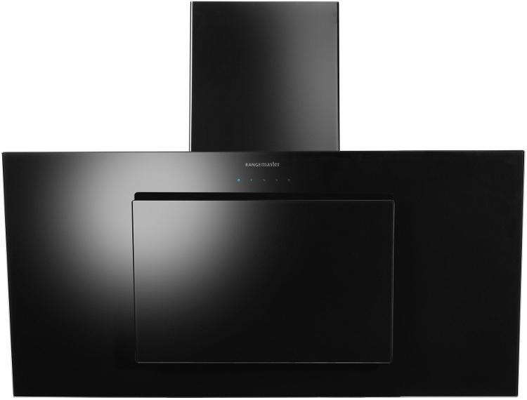 Black 90cm cooker hood
