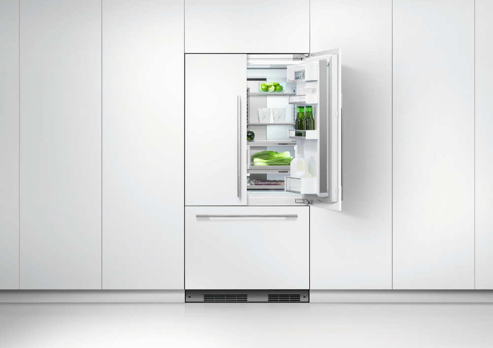 Fisher paykel rs90a1 integrated american fridge freezer - Integrated freezer ...