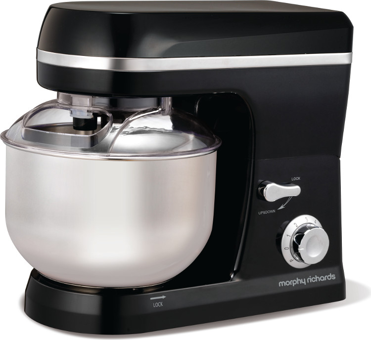 Buy Morphy Richards 400011 Accents Black Stand Mixer (400011) Marks Electrical
