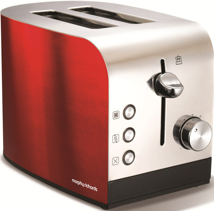 Asda Coffee Maker Instructions : Buy Morphy Richards 44206 2 Slice Red Toaster - Red and Stainless Steel Marks Electrical