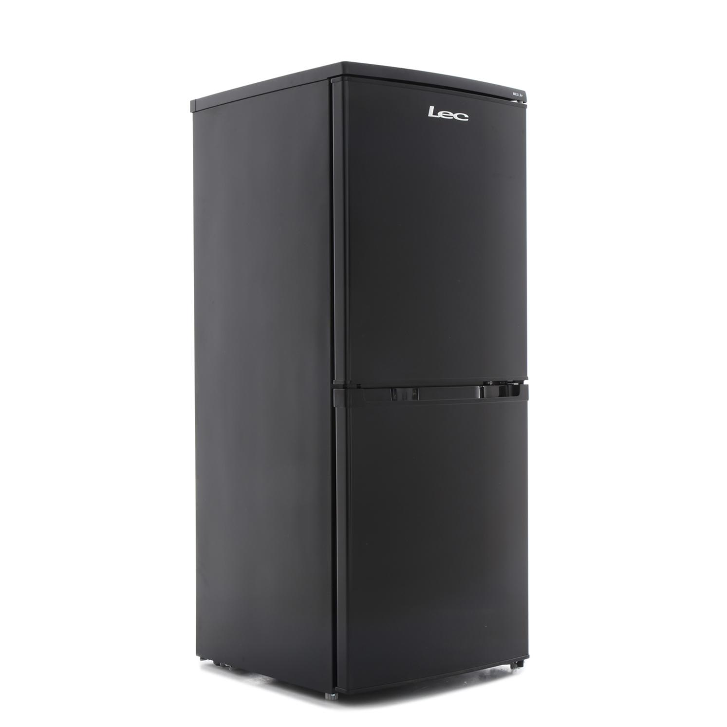 buy lec t5039b black fridge freezer 444440471 marks. Black Bedroom Furniture Sets. Home Design Ideas