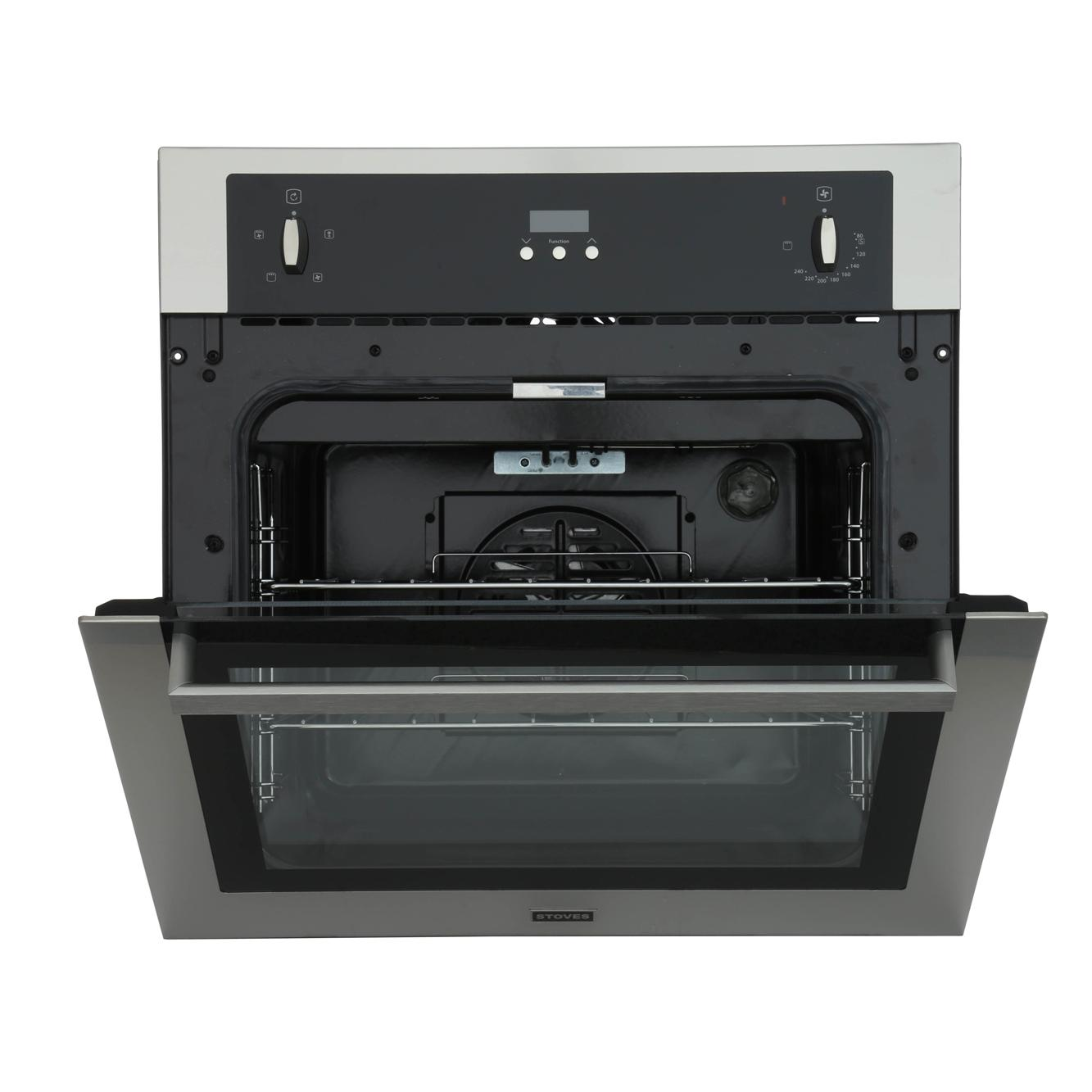 Single Electric Stove ~ Stoves seb fp stainless steel single built in electric