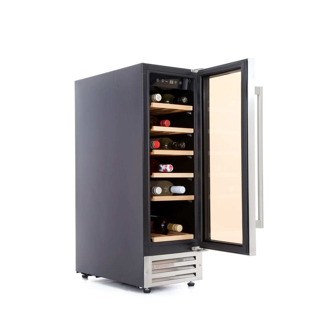 lec wc mk stainless steel wine cooler ()  buy online  - lec wc mk stainless steel wine cooler
