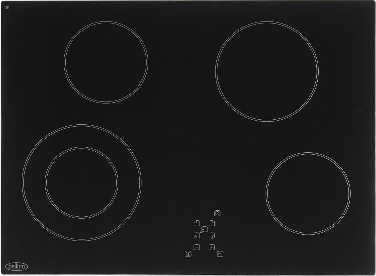 Buy Belling Ch70tx Black Ceramic Hob 444441170 Black