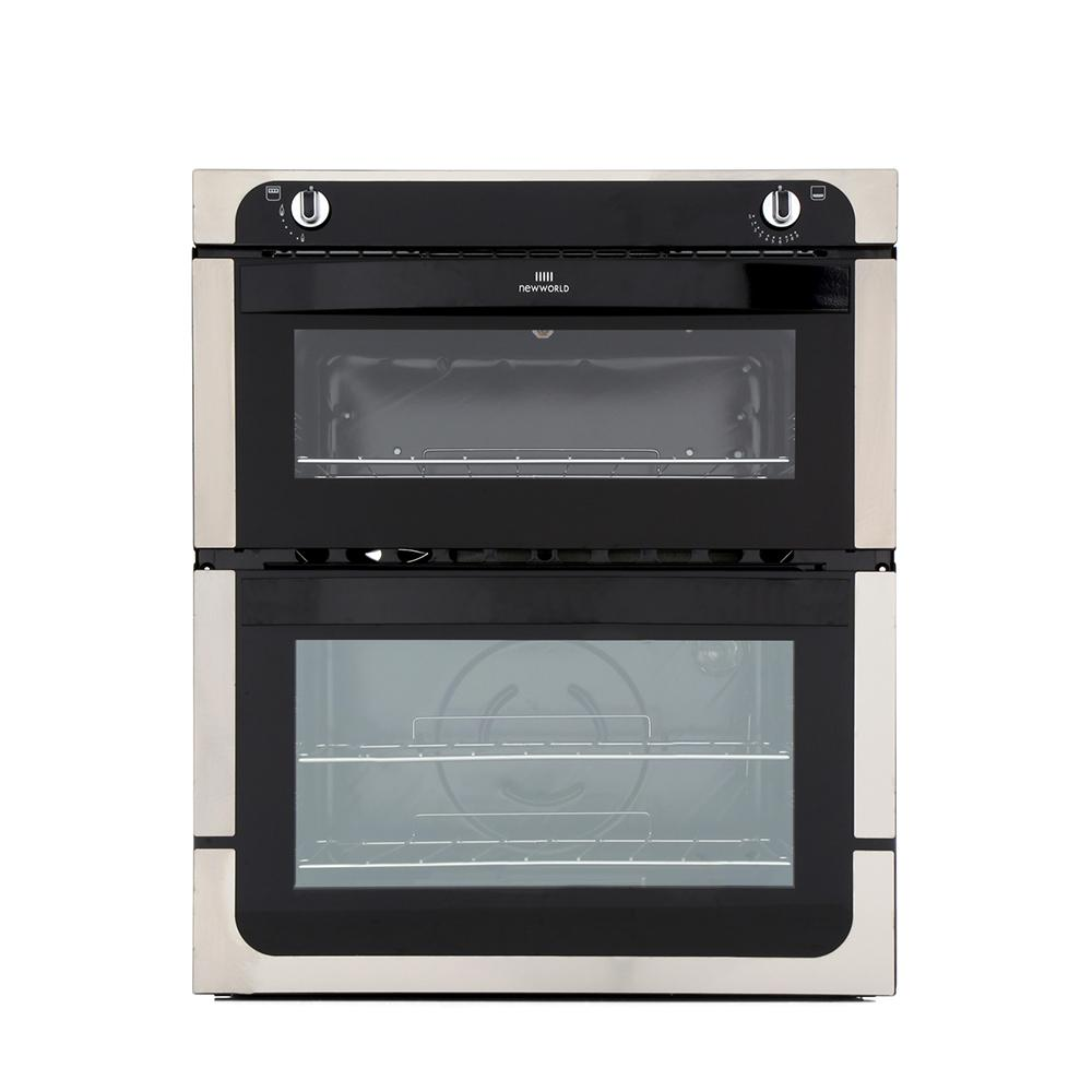 Gas built in double oven with gas grill