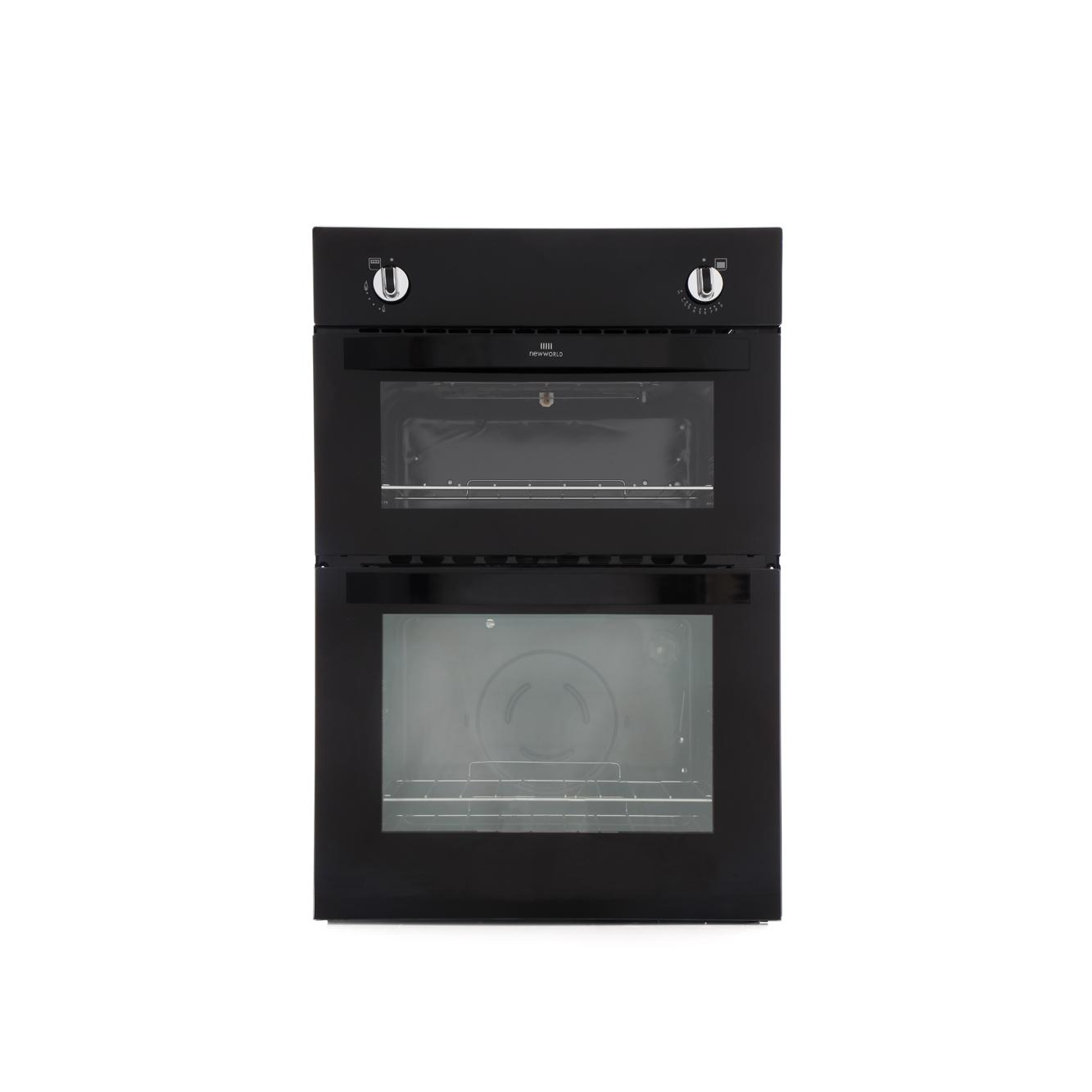 new world nw901g black built in gas oven separate grill. Black Bedroom Furniture Sets. Home Design Ideas