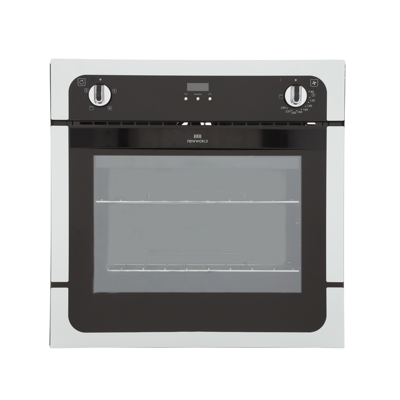 New World NW601FP White Single Built In Electric Oven