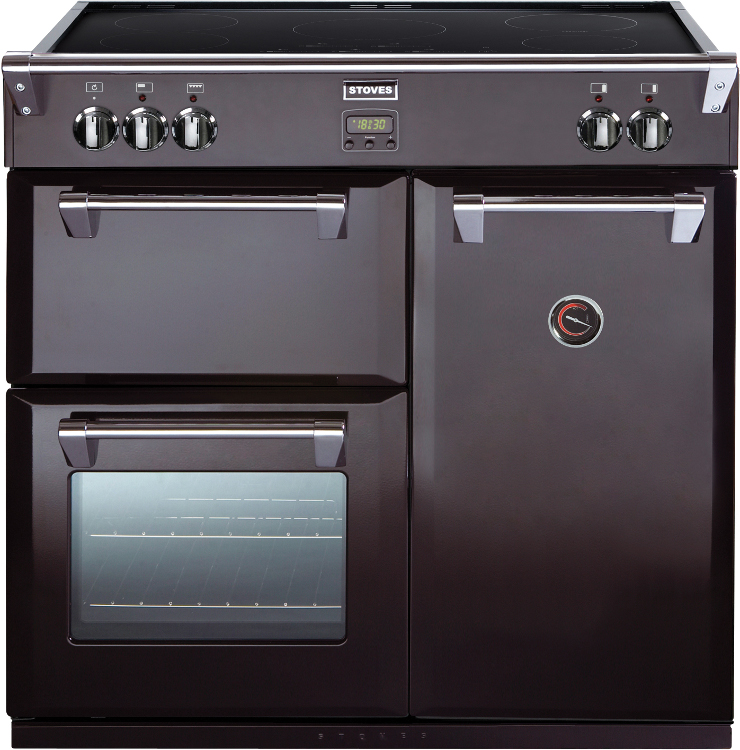 Electric Cooker Stove : Stoves Richmond 900Ei Black 90cm Electric Induction Range Cooker - Buy ...