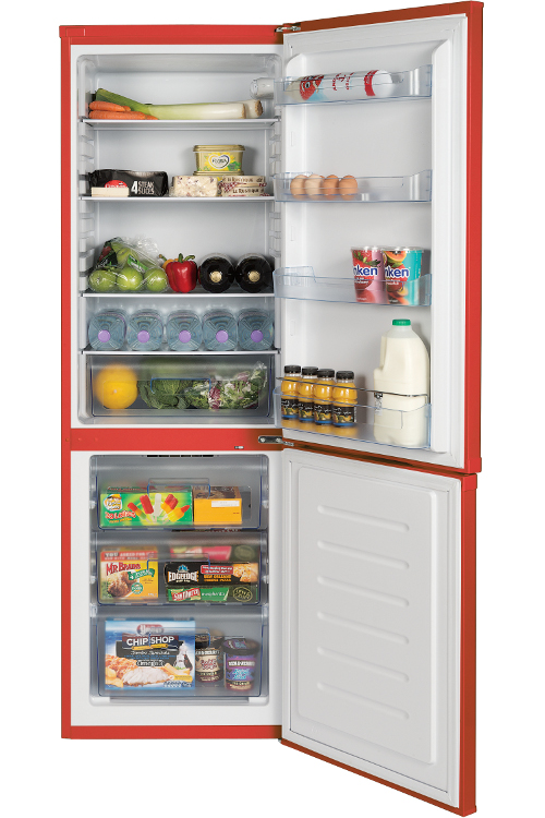 lec tf60183r red fridge freezer 444443245 buy online. Black Bedroom Furniture Sets. Home Design Ideas