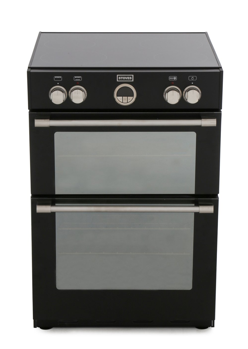 Stoves Sterling 600mfti Black Induction Electric Cooker