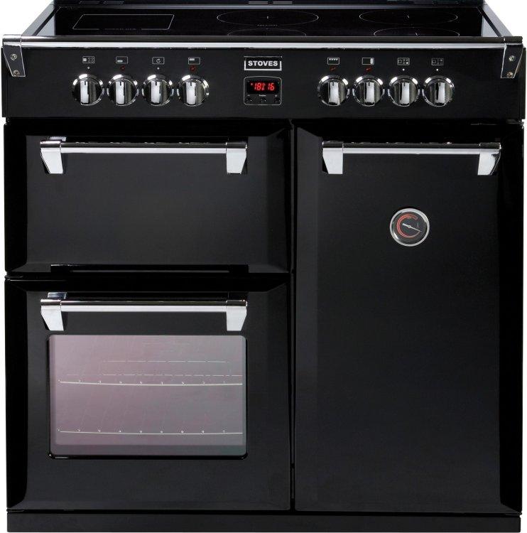Stoves Richmond 900e Black 90cm Electric Induction Range
