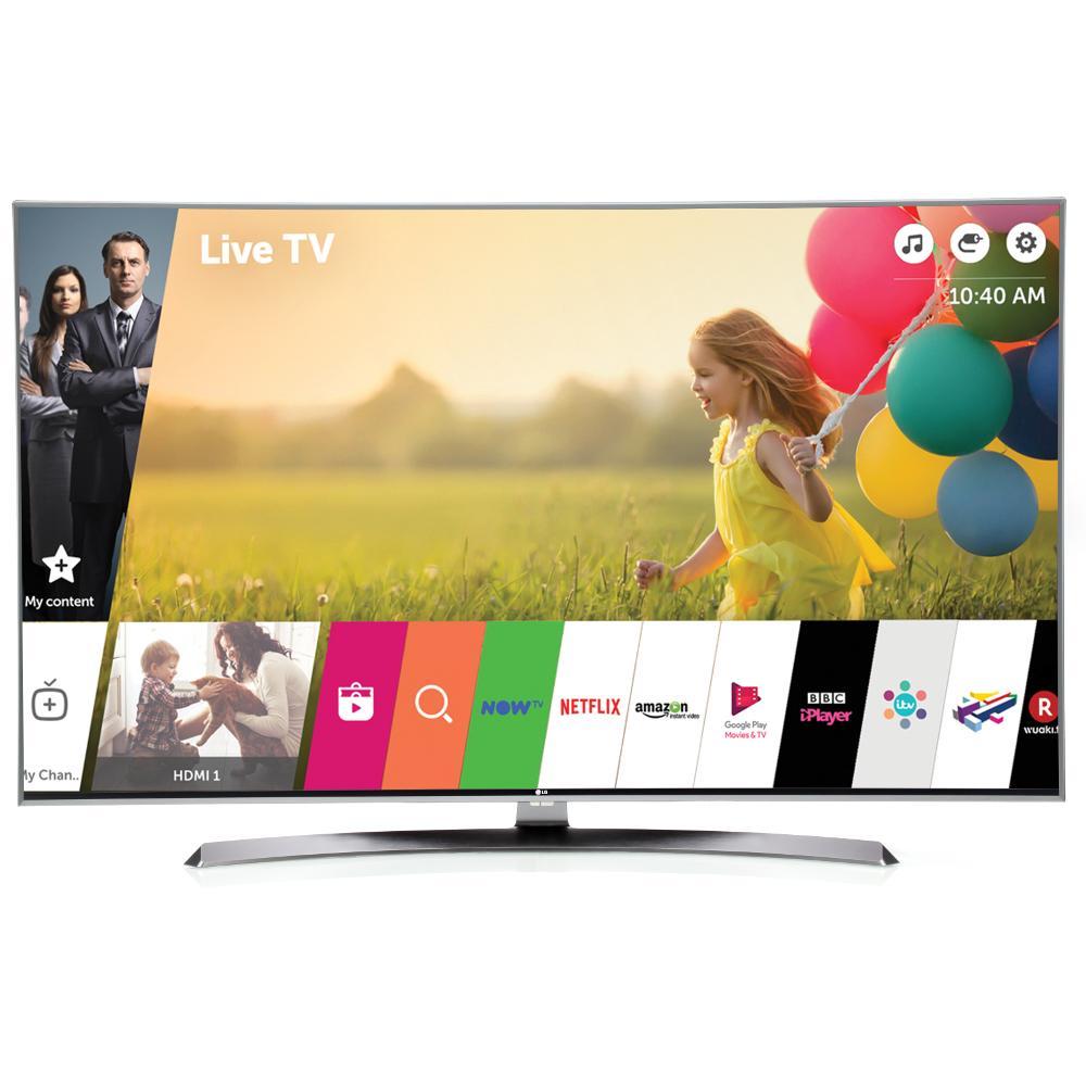 "LG 49UJ750V 49"" 4K Smart UHD Television"