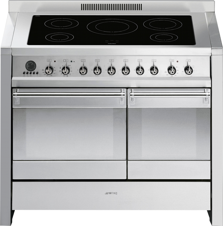 Buy Smeg Opera A2pyid8 Stainless Steel 100cm Electric