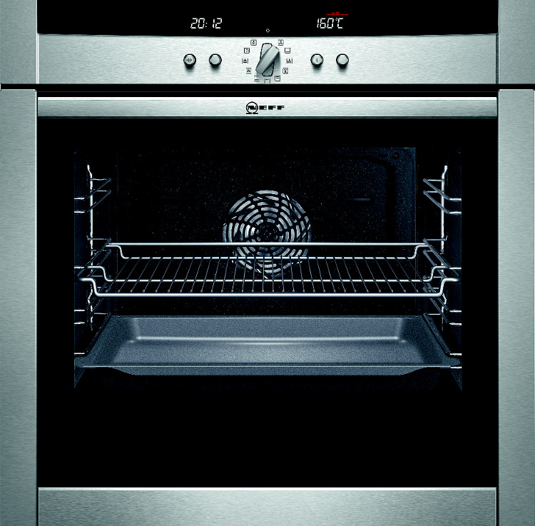 Buy neff series 3 b45e52n3gb single built in electric oven b45e52n3gb stainless steel - Neff electric ...