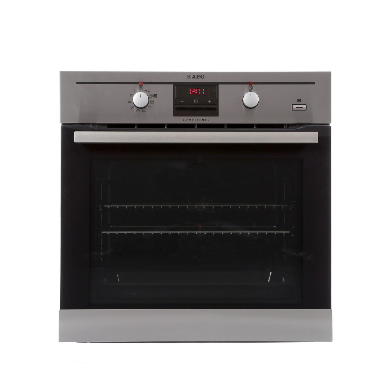 aeg bp330306km single built in electric oven stainless. Black Bedroom Furniture Sets. Home Design Ideas