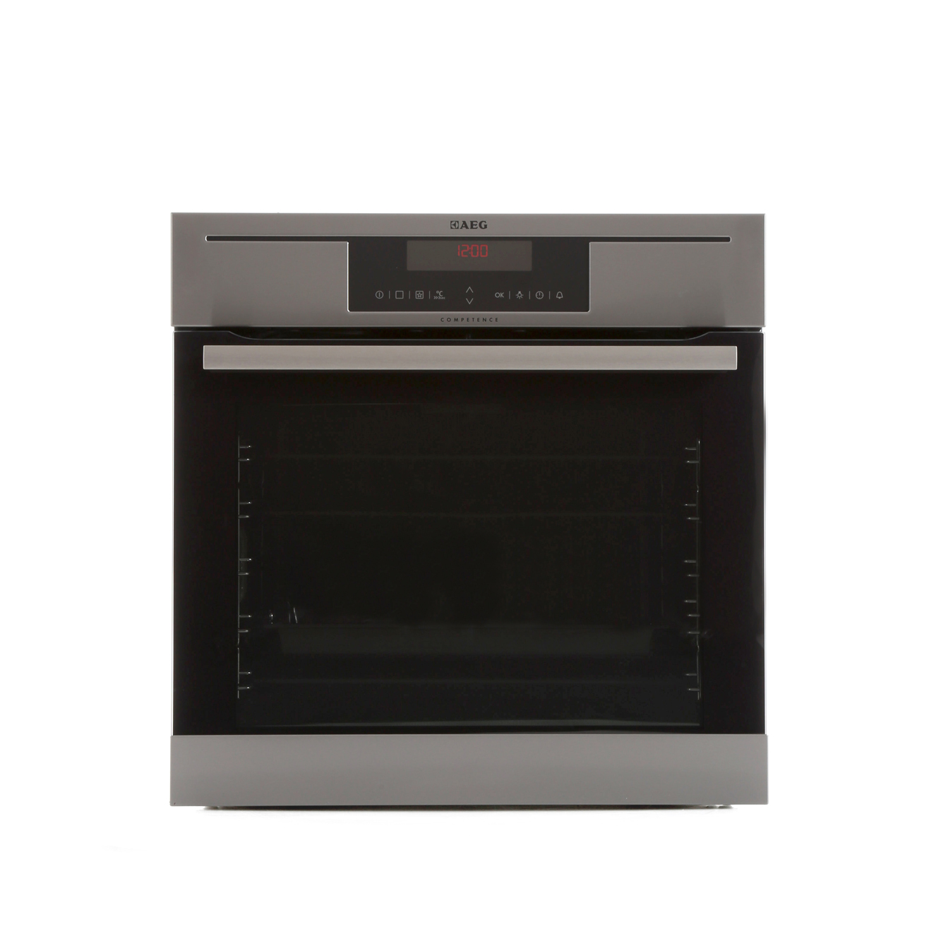 buy aeg bp730402km single built in electric oven stainless steel with anti finger print. Black Bedroom Furniture Sets. Home Design Ideas