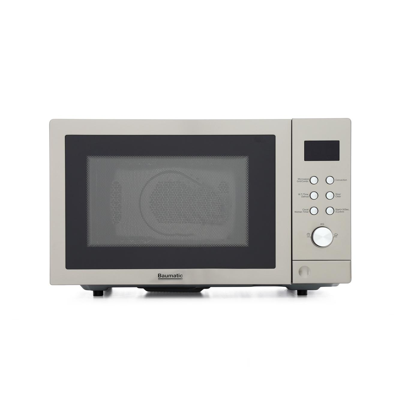 Baumatic BTM25.5SS Combination Microwave