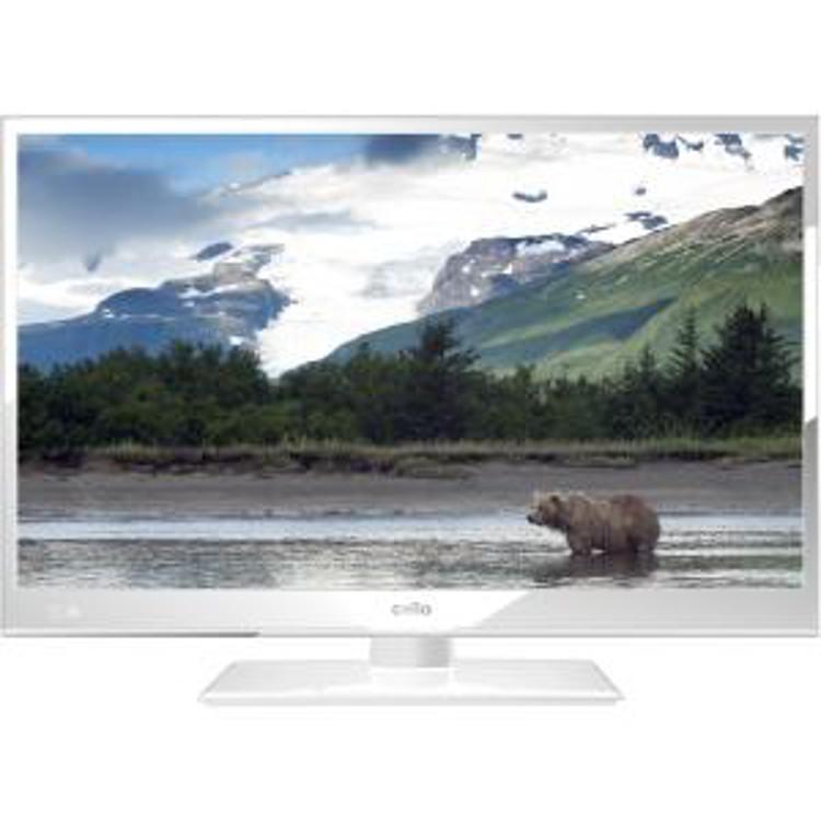 "Cello C24230DVBWH 24"" HD Ready Television"
