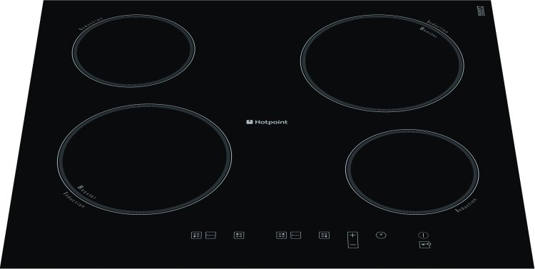 buy hotpoint cic642c induction hob frameless marks. Black Bedroom Furniture Sets. Home Design Ideas