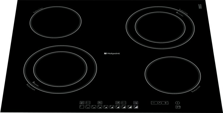 buy hotpoint cio642ddb induction hob frameless marks. Black Bedroom Furniture Sets. Home Design Ideas