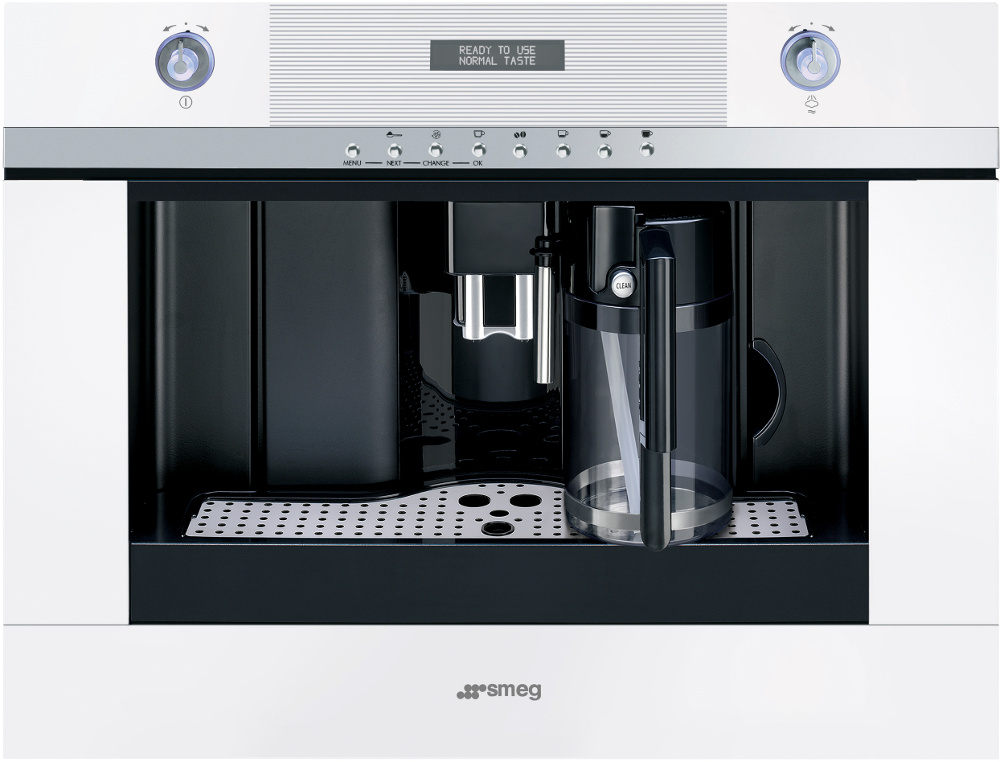 Smeg CMSC451B Linea Built In Coffee Maker