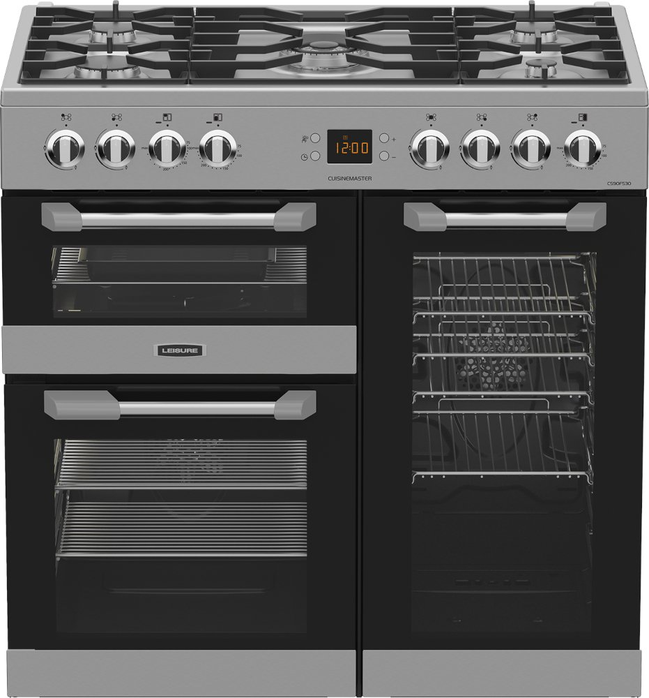 Leisure Cuisinemaster Cs90f530x 90cm Dual Fuel Range