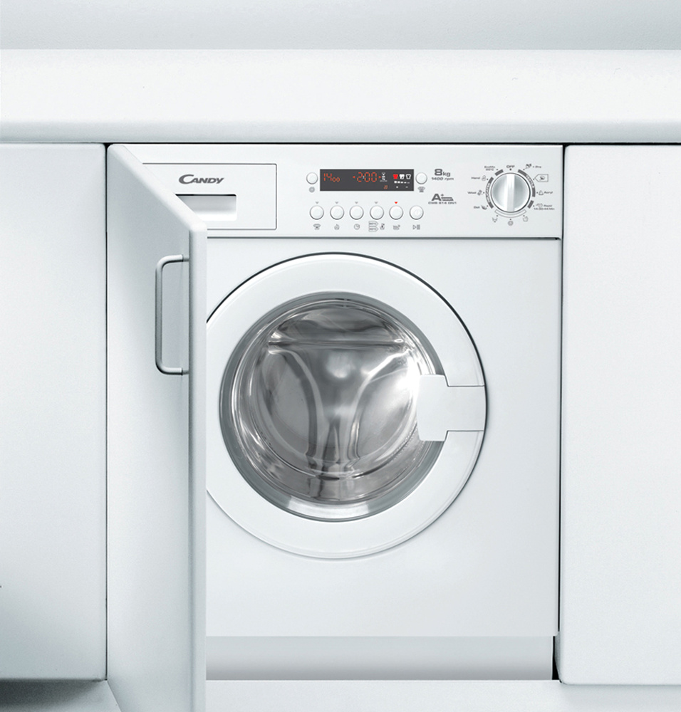Candy CWB814DN1 Integrated Washing Machine