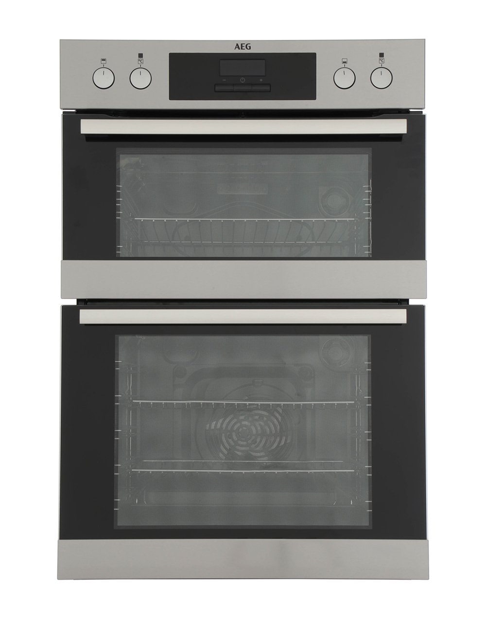 buy aeg deb331010m double built in electric oven. Black Bedroom Furniture Sets. Home Design Ideas