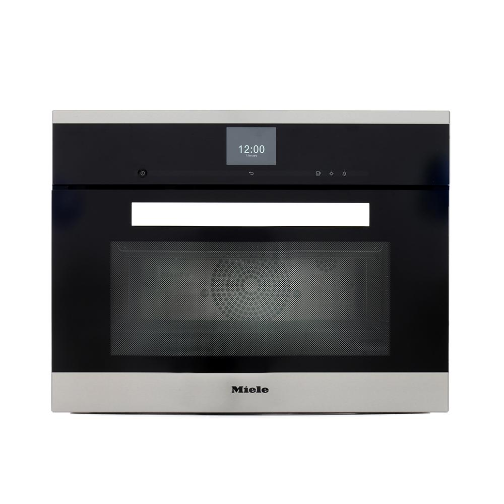 buy miele pureline dgc6600 cleansteel steam oven dgc6600clst stainless steel cleansteel. Black Bedroom Furniture Sets. Home Design Ideas